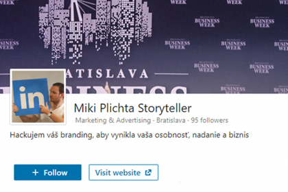 Ako nakopnúť LinkedIn firemnú stránku? | Miki Plichta | LinkedIn Storyteller